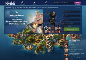 Casino Heroes Norge