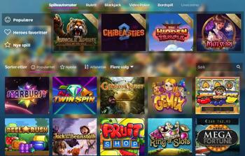 Casino Heroes Casinospill