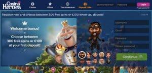 Casino Heroes - Casino Adventure online