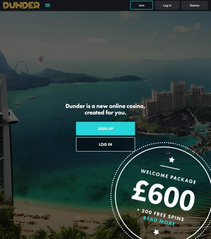 dunder.com casino