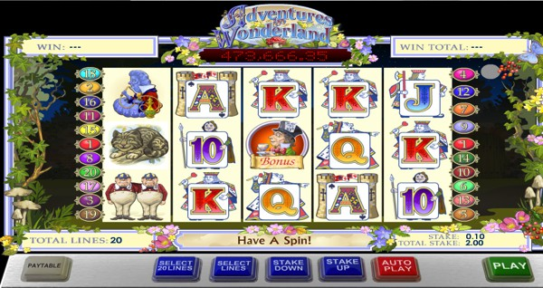 Adventures in Wonderland Slot Machine Online ᐈ Playtech™ Casino Slots