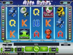 Alien Robots Video Slot