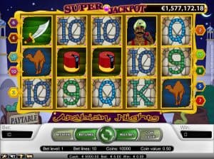 Arabian Nights - Progressive Jackpot