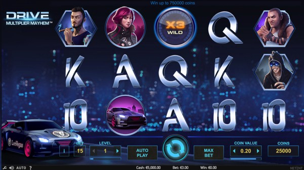 Drive: Multiplier Mayhem Video slot