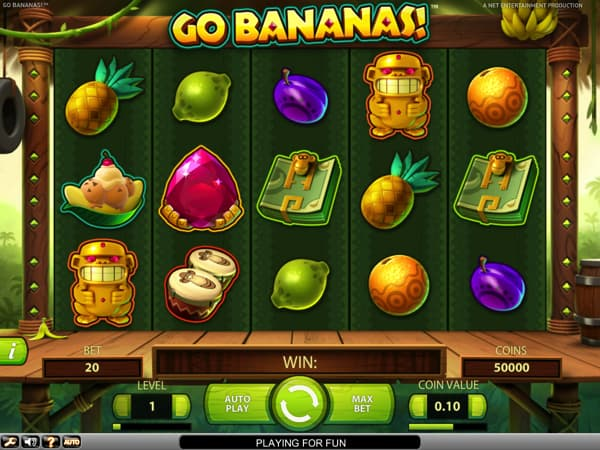 Go Bananas video slot