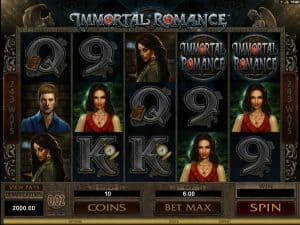 Immortal Romance Video Slot
