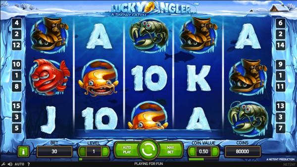 Lucky Angler Video Slot