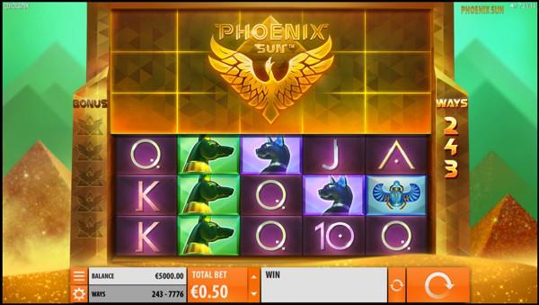 Phoenix Sun Video Slot