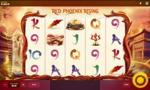 Red Phoenix Rising Video Slot