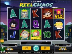 South Park: Reel Chaos video slot