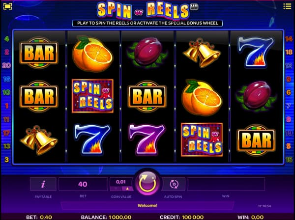 Spin or Reels video slot