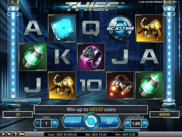 Thief Video Slot
