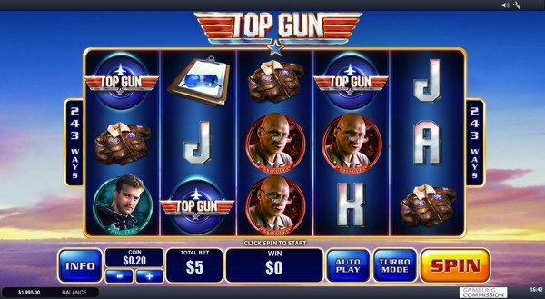 Top Gun Video Slot