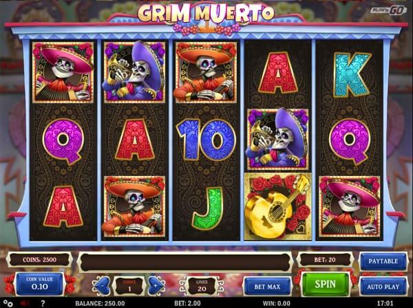Grim Muerto - Rizk Online Casino