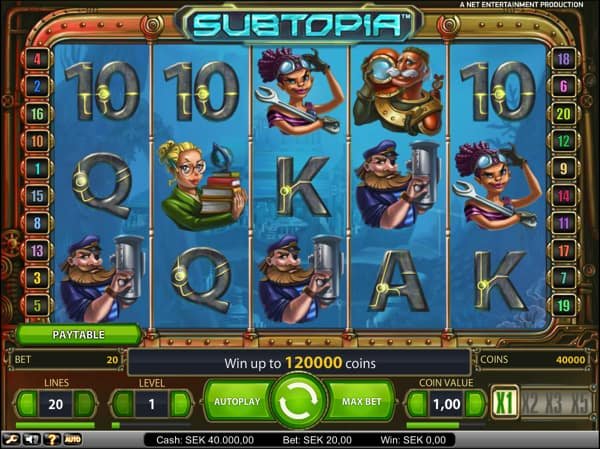 Subtopia Video Slot