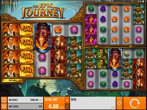 The epic Journey Slot