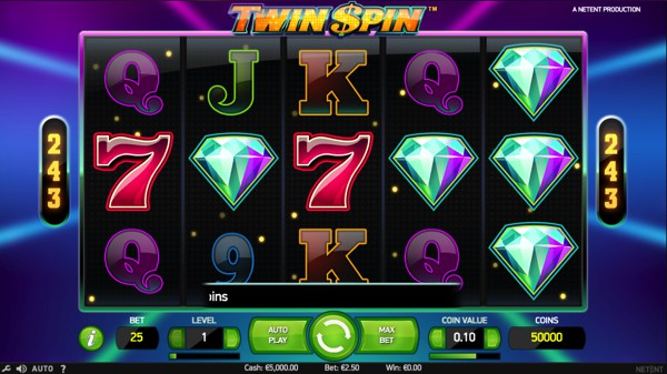 Twin Spin - A slot by Net Entertainment