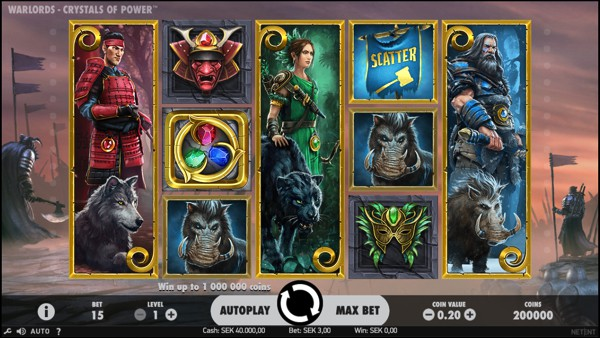 Warlords: Crystal of Power Video Slot